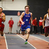 Winnacunnet's Philip Antonio runs neck-n-neck with Spauldings Jon Speltz and Concord's Angel Feliz in the 55m dash final at Sunday's Indoor Winter Track Meet @ the Paul Sweet Oval at UNH on 12-20-2015.  Matt Parker Photos