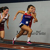 Winnacunnet's Mikhael Acuna-Stevenson gets a strong start and completes the Girls 55m dash with a time of 8.20 at Sunday's Indoor Winter Track Meet @ the Paul Sweet Oval at UNH on 12-20-2015.  Matt Parker Photos