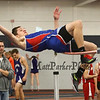 Winnacunnet's Billy Powers jumps 5-10.00 in the high Jump taking 4th place at Sunday's Indoor Winter Track Meet @ the Paul Sweet Oval at UNH on 12-20-2015.  Matt Parker Photos