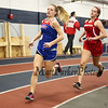 Winnacunnet's Gabby MacLean (2:02.00 10th) is followed by a Pinkerton runner in the Girls 600m run during Sunday's Indoor Winter Track Meet @ the Paul Sweet Oval at UNH on 12-20-2015.  Matt Parker Photos