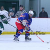Winnacunnet's DIV II Ice Hockey vs Dover Green Wave @ Dover Ice Arena on Monday 12-21-2015.  WHS-2, DHS-3.  Matt Parker Photos