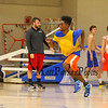 Winnacunnet Warriors Varsity and JV Boys Basketball preseason practice on Wednesday 12-9-2015 @ WHS.  Matt Parker Photos