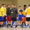 Winnacunnet's Varsity Coach Jay McKenna at Wednesday's preseason  Varsity and JV Boys Basketball session on 12-9-2015 @ WHS.  Matt Parker Photos