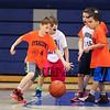 Winnacunnet Boys Varsity Basketball vs Merrimack High School with HYA 3rd and 4th Grade Coed halftime show on Tuesday 2-3-2015 @ Winnacunnet High School.  Matt Parker Photo