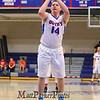 Winnacunnet's #14 Tyler Aversano takes a foul shot during Tuesday's Div I Boys Basketball game between Winnacunnet and Merrimack High Schools on 2-3-2015 @ WHS.  Matt Parker Photos