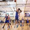 Winnacunnet DIV I Girls Varsity Basketball vs Exeter High School on Friday 2-6-2015 @ Exeter, NH.  Matt Parker Photos