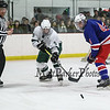 NHIAA DIV II Boys Hockey Preliminary round game between Winnacunnet and Kingswood High Schools on 3-4-2015 at Pop Whalen Ice Arena, Wolfboro, NH WHS-1, KHS-6.  Matt Parker Photos
