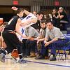 Winnacunnet Warriors Boys Basketball vs Keene Blackbirds Div I Basketball on Friday 3-6-2015, Winnacunnet Senior Night and Cheerleaders half time show@ Winnacunnet High School.  Matt Parker Photos