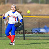 Winnacunnet's Britni Ballance steps in to field a Londonderry base hit during Friday's Div I Girls Softball game between the Winnacunnet Warriors and Londonderry Lancers High Schools on Friday 4-17-2015 @ WHS.  Matt Parker Photos