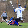 Winnacunnet Boys Varsity DIV II Lacrosse vs Oyster River High School on Monday 4-27-2015 @ Oyster River.  Matt Parker Photos
