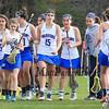 Winnacunnet's Girls DIV II Varsity Lacrosse vs Kingswood High School on Thursday 4-30-2015 @ WHS.  Matt Parker Photos