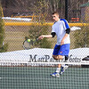 Winnacunnet Boys Tennis Home Opener match vs Londonderry Lancers on Monday @ Winnacunnet High School on 4-6-2015.  Matt Parker Photos