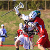 Winnacunnet DIv II Boys Lacrosse vs Oyster River High School on Friday 5-1-2015 @ WHS.  Matt Parker Photos