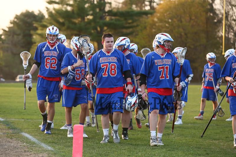 Winnacunnet Boys DIV II Lacrosse vs Pembroke Academy on Wednesday 5-6-2015 @ Pembroke.  Matt Parker Photos