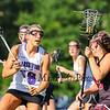 Marshwood's #18 Korinne Bohunsky puts pressure on Scarborough's #15 Sydney Hersey during Wednesday's Western Maine Class A Regional Finals between Marshwood Hawks and Scarborough Red Storm on 6-17-2015 @ Marshwood High School.  Matt Parker Photos
