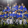 Seacoast U11 Players and Coaches pose with their runner up trophys for a photo after their loss in Thursday's Final at the NH U11's Cal Ripken 70'  Championship Tournament between Seacoast U11's and Swanzey All Stars @ Londonderry Athletic Fields on 7-23-2015.  Matt Parker Photos