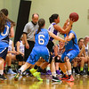 Marshwood Girls Basketball vs Dublin Raiders exhibition girls basketball game during the week long Maine-Ireland Basketball Tour on Thursday @ Eliot Baptist Church, Eliot ME on 7-30-2015.  Matt Parker Photos