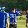 Winnacunnet Senior Cole Parker at the 2015 Winnacunnet Warriors Veer Camp on Sunday 8-2-2015 @ Winnacunnet High School.  Matt Parker Photos