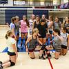 Winnacunnet JV Girls get organized for a photo after Wednesday's practice @ WHS on 9-2-2015.  Matt Parker Photos