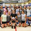 Winnacunnet JV Girls pose for a photo after Wednesday's practice @ WHS on 9-2-2015.  Matt Parker Photos