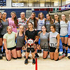 Winnacunnet JV Girls pose for photo after Wednesday's practice @ WHS on 9-2-2015.  Matt Parker Photos