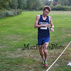 Exeter's Justin Carbone finishes 1st in the Boys Race with a time of 16:46 during the Exeter, Dover, Spaulding and Winnacunnet Div I Cross Country Meet on Tuesday @ Phillips Exeter Academy on 9-28-2015.  Matt Parker Photos