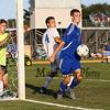 Winnacunnet Warriors Boys Soccer vs Londonderry High School on Friday 9-4-2015 @ WHS.  Matt Parker Photos