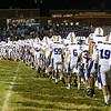 Winnacunnet Warriors Div I Football vs Salem High School @ Salem on Friday Night 9-4-2015.  Matt Parker Photos