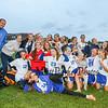 Winnacunnet Girls JV and varsity Soccer vs Memorial High School on Friday 10-2-2015 @ WHS.  Matt Parker Photos