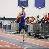 Winnacunnet's Ryan Hanley takes 1st place with a time of 38.40 in the Boys 300m run at the NH Indoor Track and Field League Evening Session Meet #4  on 1-11-2014 @ the UNH Paul Sweet Oval, Durham, NH.  Matt Parker Photos