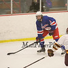 Winnacunnet Hockey vs Lebanon High School during Saturday's Div II Hockey game @ Champion Arena, West Lebanon NH on 1-17-2015.  Matt Parker Photos