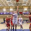 Winnacunnet's #33 Sara Dyer gets a rebound and puts the ball back for 2 points during Monday's Div I Girls Basketball game between Winnacunnet and Pinkerton Academy on 1-6-2015 @ Winnacunnet High School.  Matt Parker Photos