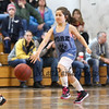 York's #8 Grace Clayton dribbles the ball up the court  during the 25th Annual Charlie Brown Memorial Basketball Classic between York and Hampton Attack Girls 3/4 Grade teams on Sunday 3-1-2015 @ York Middle School, York ME, 8:30AM Start.  Matt Parker Photos