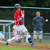 Booma's batter #8 John Ferrelli of Hampton lines up a fast ball pitch during Wednesday's American Legion baseball game between Portsmouth Booma Post 6 and Dover Post 8 on 7-15-2015 @ Dover High School.  Matt Parker Photos