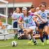Winnacunnet Girls Varsity Soccer vs Oyster River preseason game on Thursday 8-20-2015 @ WHS.  Matt Parker Photos