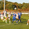 Winnacunnet Warrior Boys Freshman Soccer vs Salem Blue Devils High School on Wednesday 9-23-2014 @ WHS.  Matt Parker Photos