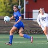 Winnacunnet's defender #3 Isabella Loffredo looks to contain the ball during Friday's Div I Girls Soccer game between Winnacunnet and Exeter High Schools on 9-25-2015 @ EHS.  Matt Parker Photos