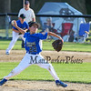 Seacoast's Pitcher #22 Brady Annis delivers a pitch during Wednesday's  Baseball game between Seacoast U11's and Hudson All Stars @ Roger Allen Park, Rochester, NH on 7-8-2015.  Matt Parker Photos