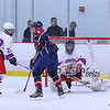 Winnacunnet Warriors NHIAA DIV II Ice Hockey vs the Cavaliers of Hollis-Brookline High School on Wednesday @ The Rinks at Exeter on 1-13-2016.  WHS-7, HBHS-1.  Matt Parker Photos