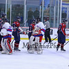 Winnacunnet Warriors NHIAA DIV II Ice Hockey vs the Cavaliers of Hollis-Brookline High School on Wednesday @ The Rinks at Exeter on 1-13-2016.  WHS-7, HBHS-1.  Matt Parker Photos