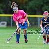 "Hampton Academy Girls Field Hockey vs Seabrook Middle School at the, ""Play for a Cure"" day on Thursday 10-13-2016 @ Hampton Academy.  Matt Parker Photos"