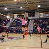 Dig Pink Cancer Awareness Night with the Winnacunnet Warriors Girls Varsity Volleyball vs The Broncos of Alvirne High School on Friday 10-14-2016 @ WHS.  Matt Parker Photos