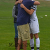 Winnacunnet Senior #16 Freddy Schaake with his family prior to Tuesday's Boys Soccer game between Winnacunnet and Alvirne High Schools on Senior Night 10-18-2016 @ WHS.  Donna Gyorda Photography
