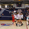 Winnacunnet Warriors Girls Volleyball vs the Cardinals of Bishop Guertin HS on Senior Day, Wednesday 10-19-2016 @ WHS.  Matt Parker Photos