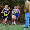 Winnacunnet's Kelly Arsenault at the NHIAA DIV I Cross Country Championships on Saturday 10-29-2016 @ Derryfield Park, Manchester, NH.  Matt Parker Photos