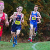 Winnacunnet's #898 Jack Taylor in the Boys race at the NHIAA DIV I Cross Country Championships on Saturday 10-29-2016 @ Derryfield Park, Manchester, NH.  Matt Parker Photos