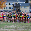 Winnacunnet Boys and Girls Cross Country at the NHIAA DIV I Cross Country Championships on Saturday 10-29-2016 @ Derryfield Park, Manchester, NH.  Matt Parker Photos