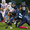 Winnacunnet Warriors JV Football vs the Titans of Nashu North on Monday 10-3-2016 @ WHS.  Matt Parker Photos
