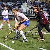 Winnacunnet's Defender #4 Courtney Ingham protects the ball from Timberlane's #6 Kylee Taylor at the NHIAA DIV I Field Hockey Championships on Sunday 10-30-2016 @ Bedford HS.  Matt Parker Photos