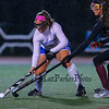 Winnacunnet's Defender #8 Kelly Mackechnie  works to get the ball around Timberlane's #17 Sarah Padellaro at the NHIAA DIV I Field Hockey Championships on Sunday 10-30-2016 @ Bedford HS.  Matt Parker Photos
